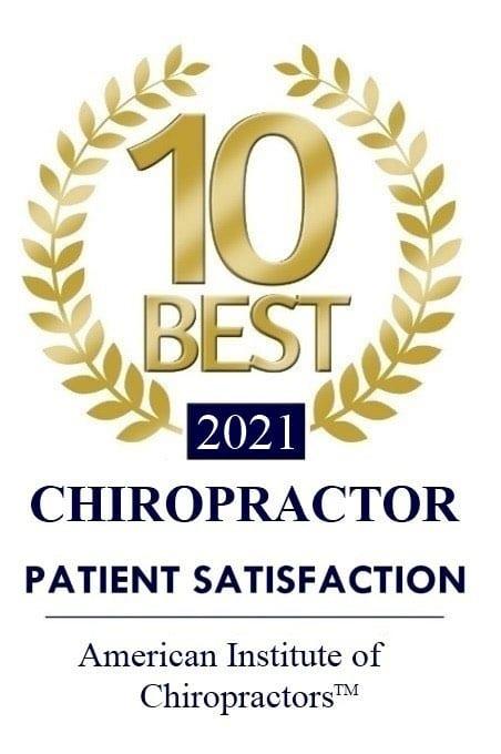 Top 10 Best Chiropractor 2021 Award